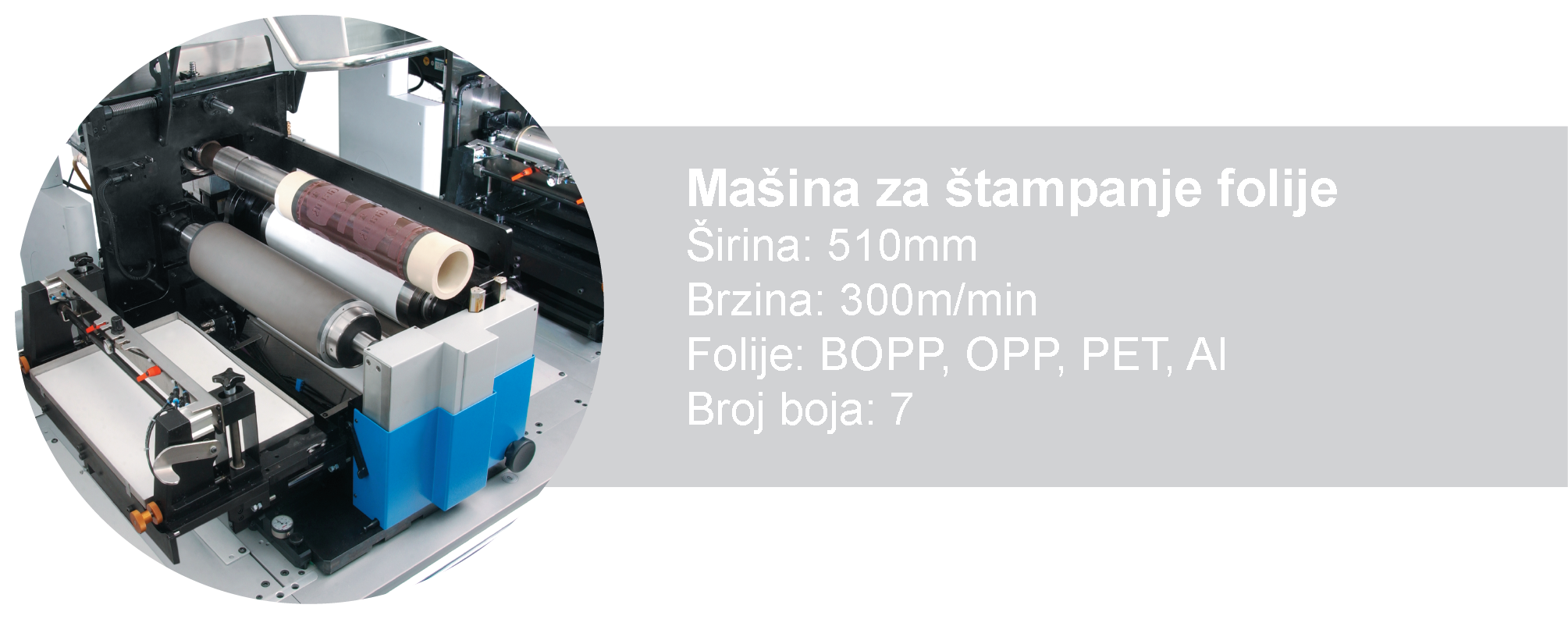 Mašina za štampanje folije