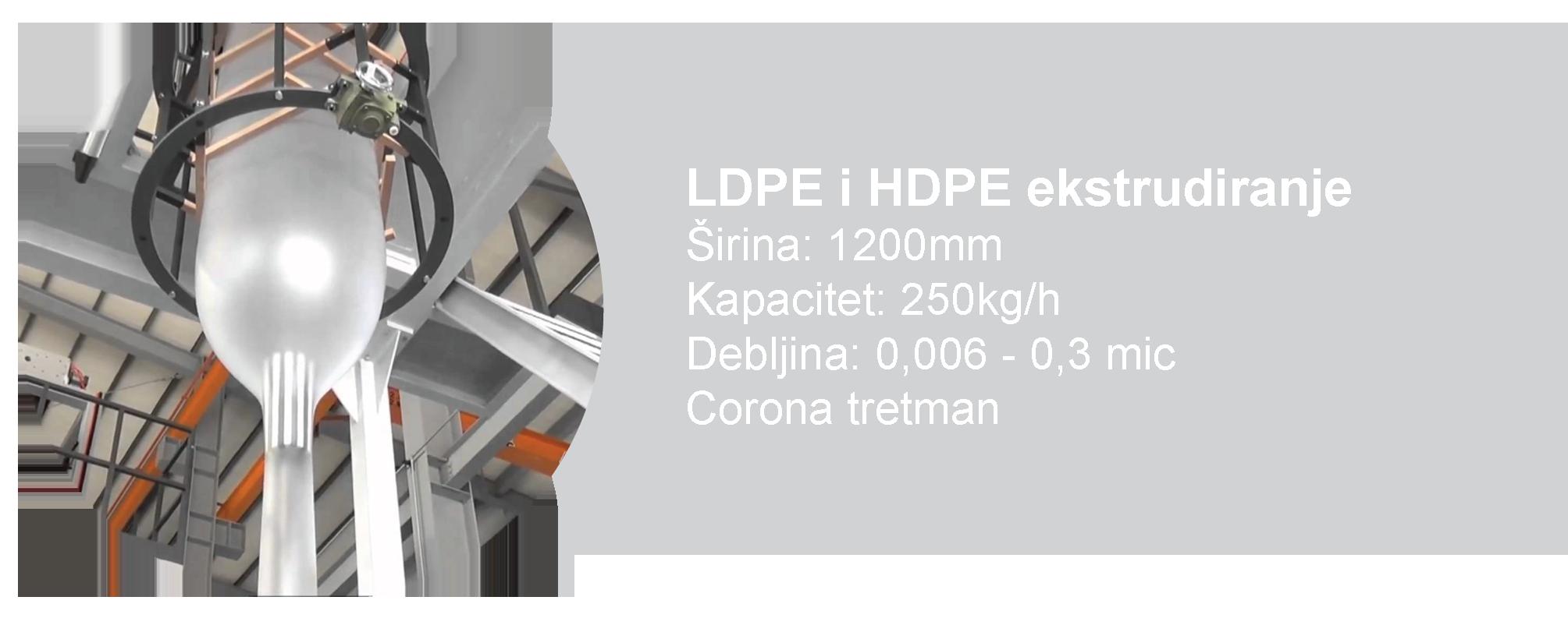 LDPE i HDPE ekstrudiranje